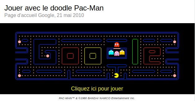 Easter egg : Pac-Man