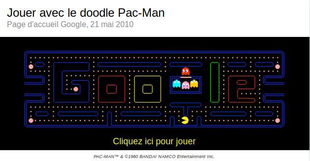 Easter egg : Pac-Man